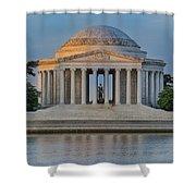 Thomas Jefferson Memorial At Sunrise Shower Curtain