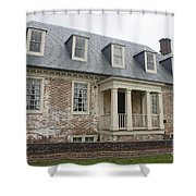 Thomas Sessions House Yorktown Shower Curtain by Teresa Mucha