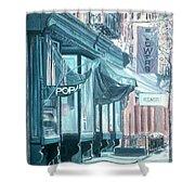 Thompson Street Shower Curtain