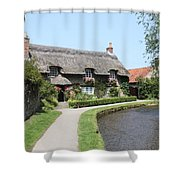 Thornton-le-dale In N.e Yorkshire Shower Curtain