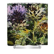 Thorny Crazy Shower Curtain