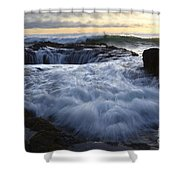 Thors Well 2 Shower Curtain by Bob Christopher
