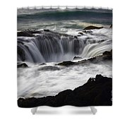Thors Well Shower Curtain