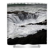 Thors Well Oregon Shower Curtain by Bob Christopher