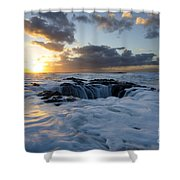Thors Well Oregon Truly A Place Of Magic 3 Shower Curtain