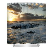 Thors Well Truly A Place Of Magic 4 Shower Curtain