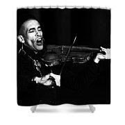 Thoth Y Violin Shower Curtain