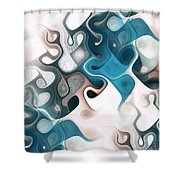 Thought Process Shower Curtain