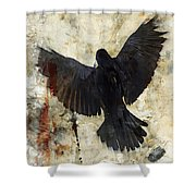 Thoughtless Falls Shower Curtain