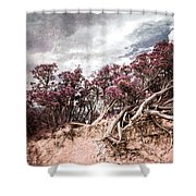 Thoughtless Roots  Shower Curtain