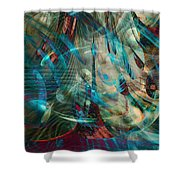 Thoughts In Motion Shower Curtain
