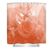 Thoughts Of Valentine's Day Shower Curtain