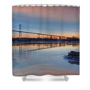 Thousand Islands Sunrise Shower Curtain
