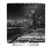 Thousand Islands Shower Curtain by Thomas Young