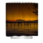 Thousand Miles Shower Curtain