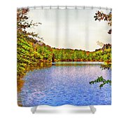 Thousand Trails Preserve Natchez Lake  Shower Curtain