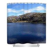 Threadbo Lake Panorama - Australia Shower Curtain