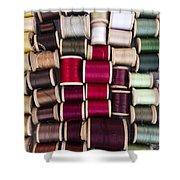 Threads I Shower Curtain