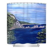 Three Arches Rock Shower Curtain
