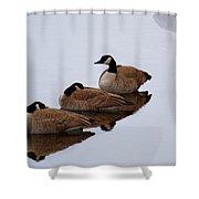 Three Canadians Shower Curtain