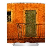 Three Doors In Provence Shower Curtain