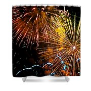 Three Explosions Shower Curtain