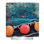 Three Floats Shower Curtain