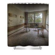Three Ill's Shower Curtain