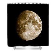 Three Moons No2 Shower Curtain