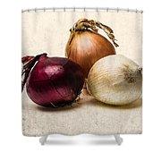 Three Onions - 1 Shower Curtain