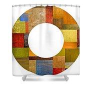 Three Rings 2.0 Shower Curtain