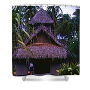 Three Story Hut 2 In Color Shower Curtain