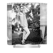 Three Times A Lady Shower Curtain