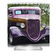 Three Window Coupe Shower Curtain