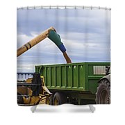 Threshing The Barley Shower Curtain