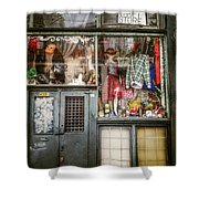 Thrift Store Shop Shower Curtain