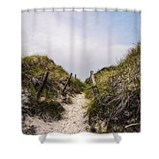 Through The Dunes Shower Curtain