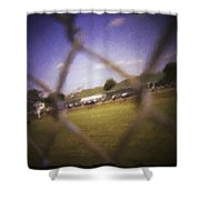 Through The Fence Neo Shower Curtain