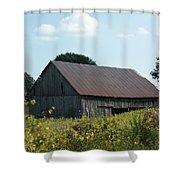 Through The Field Shower Curtain