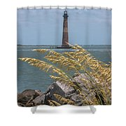Through The Sea Grass Shower Curtain