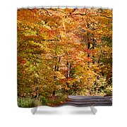Through The Woods By D. Perry Lawrence Shower Curtain