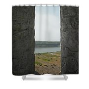 Through Those Windows Shower Curtain