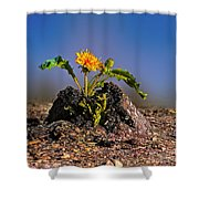 I Will Live. Shower Curtain