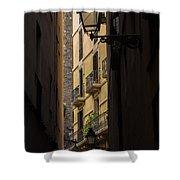 Thru The Narrow Alley Shower Curtain