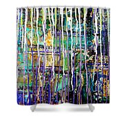 Thru The Storm 2 Digital Series Shower Curtain