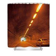 Thru The Tunnel Shower Curtain