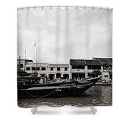 Thu Bon River Hoi An Shower Curtain