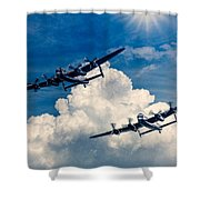 Thumper And Vera Shower Curtain