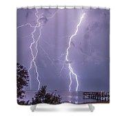Thunderation Shower Curtain