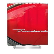 Thunderbird Roads Shower Curtain
